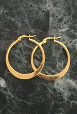 Ellen Beekmans Oorbellen Creole Classic 3,2cm-gold