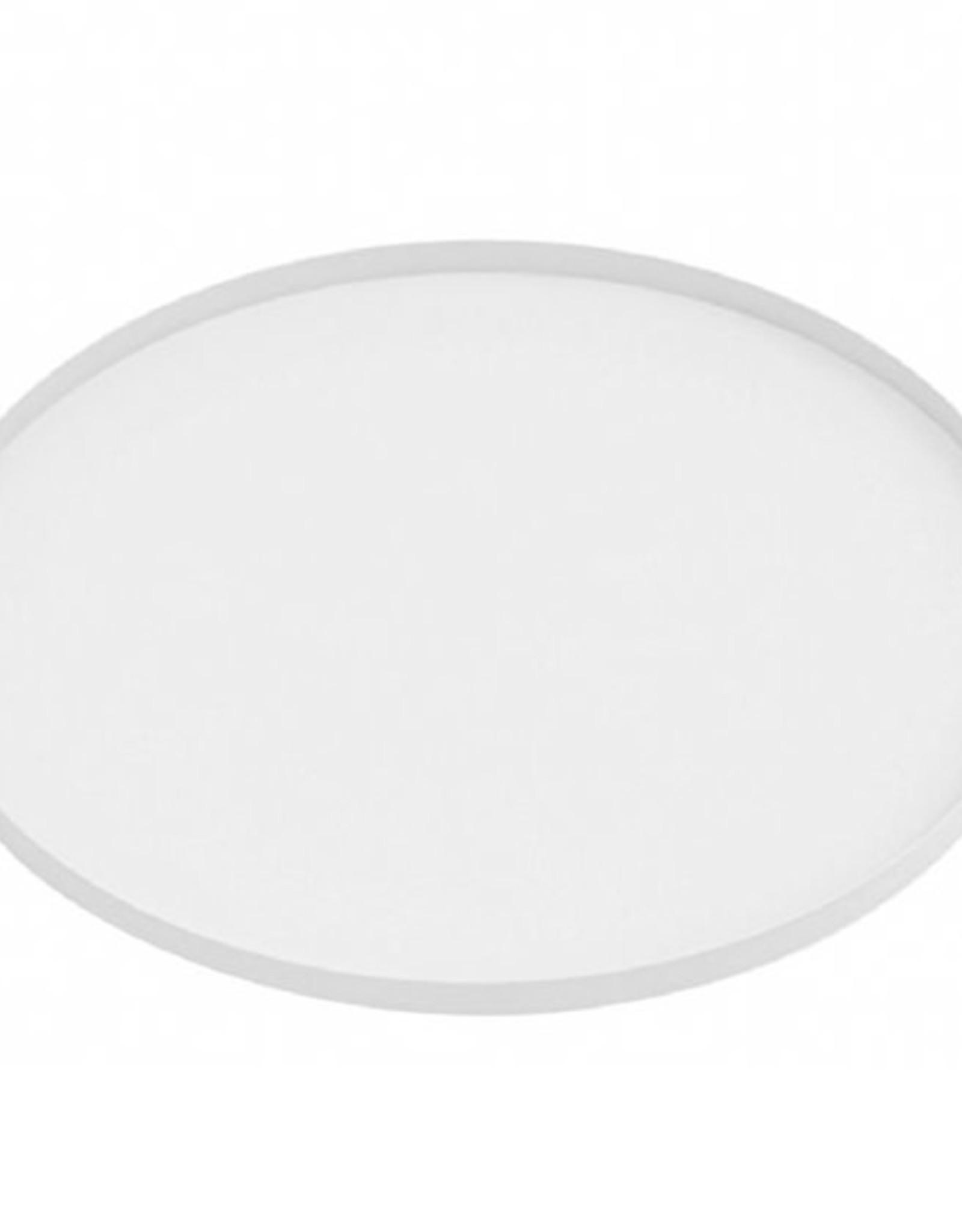 Tray Round Iron 39,5cm-white