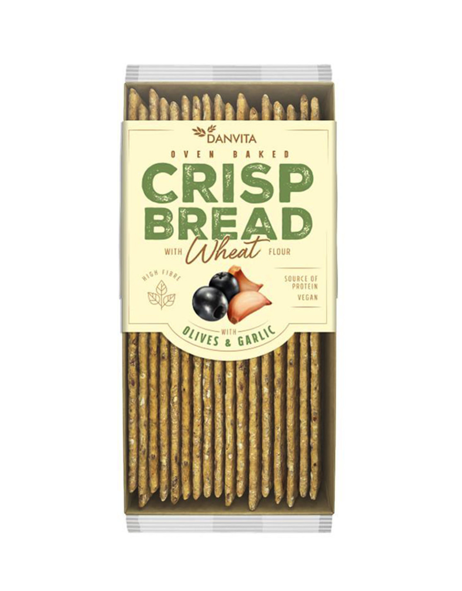 Flatbread Toast 130gr.-Olives&Garlic