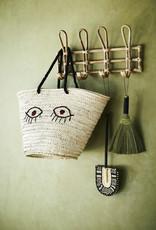 Madam Stoltz Bamboo Coat Rack 52x11x27 cm-naturel