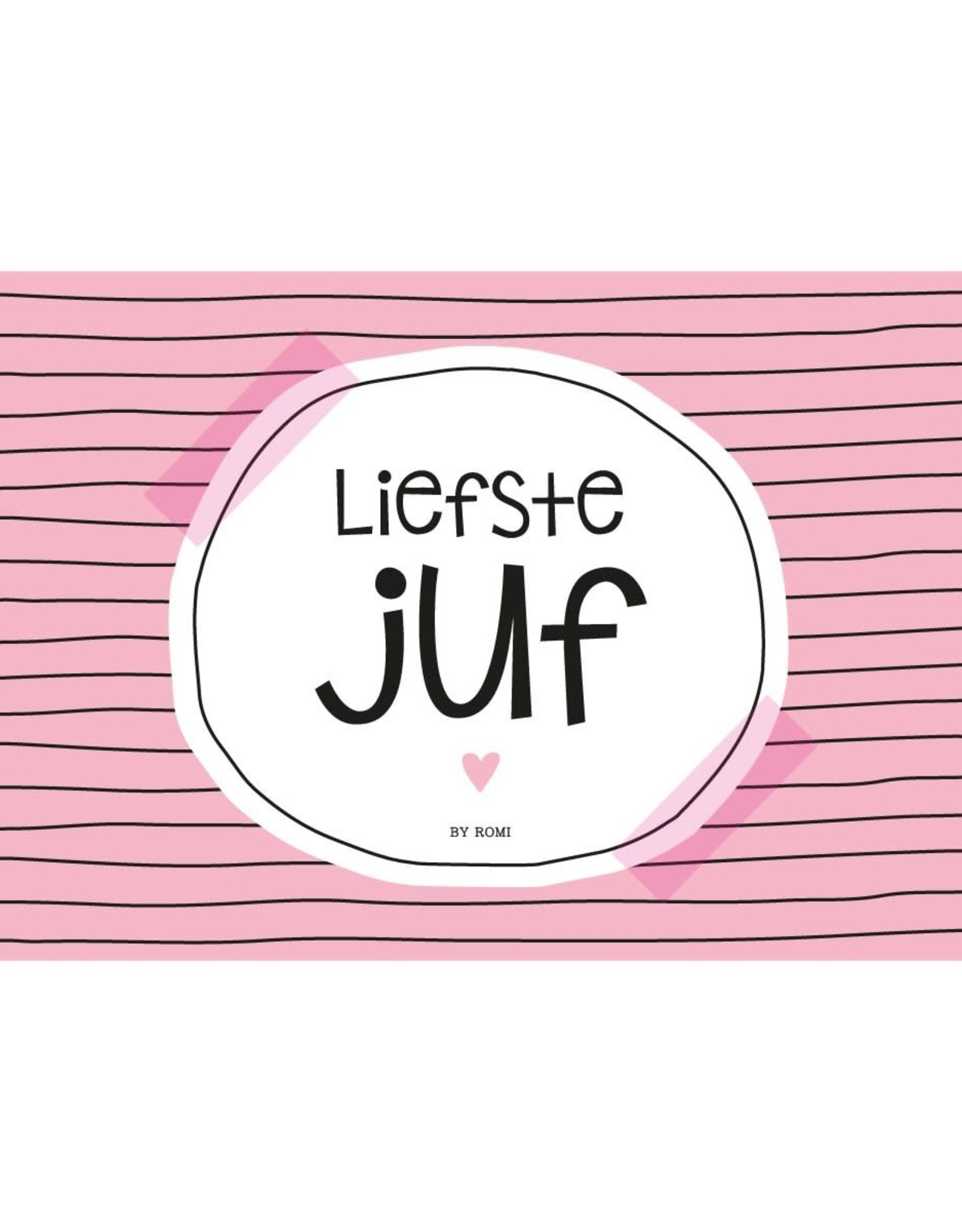Wenskaart-Liefste juf