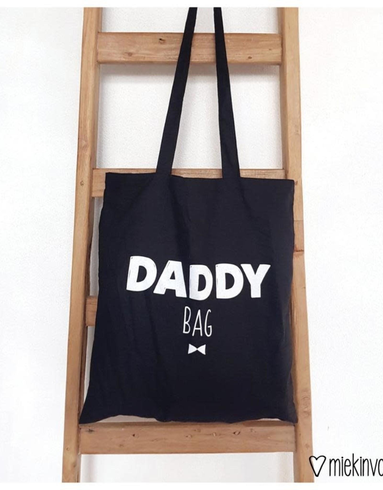 Tote Bag Tas Daddy Bag-black