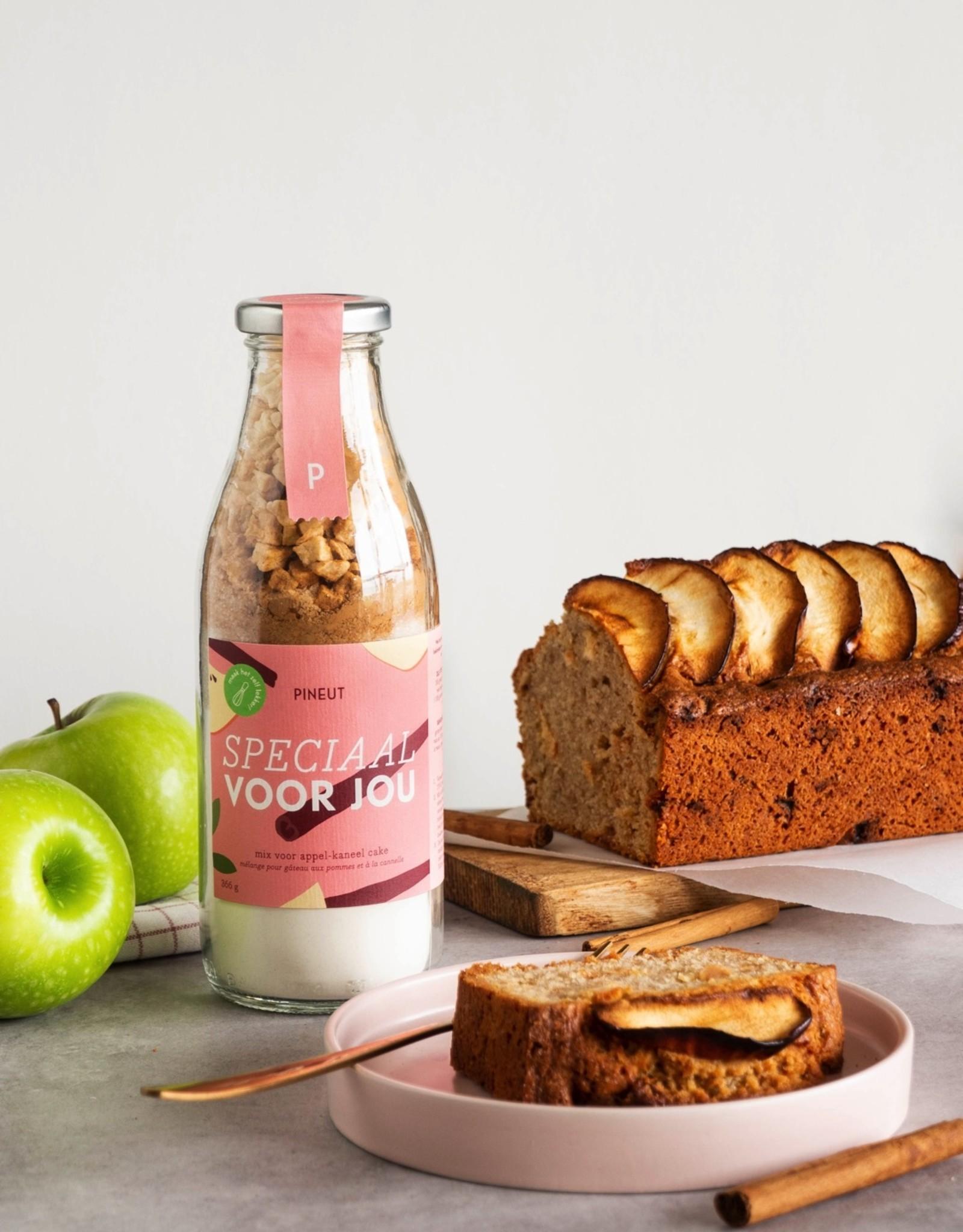 Pineut Pineut DIY Cake Appelkaneel-speciaal voor jou + kaartje juf