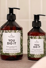 The Gift Label Handzeep-You did it