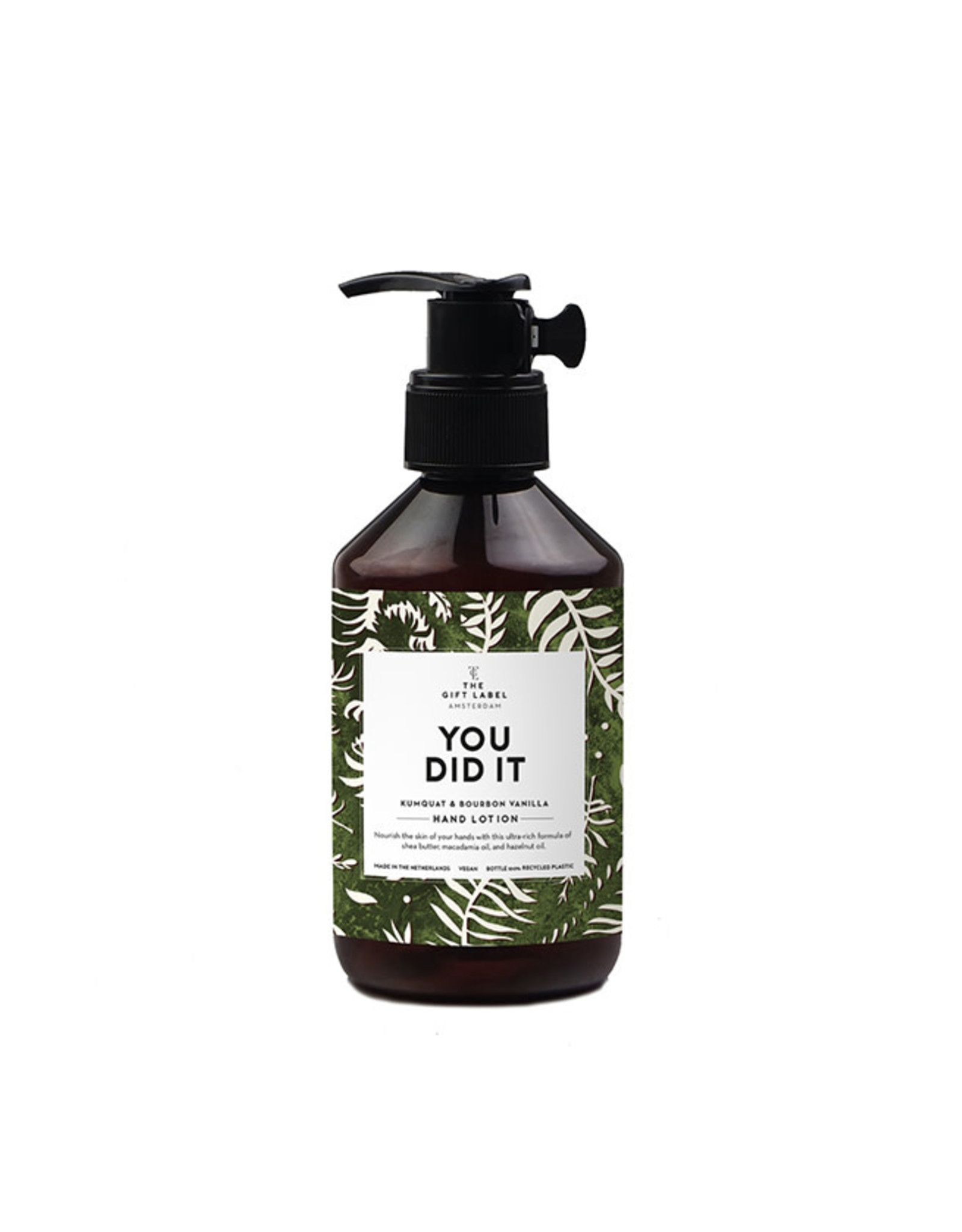 The Gift Label Handlotion-You did it