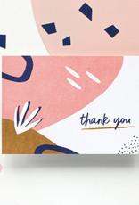 Hello August Wenskaart-Thank you