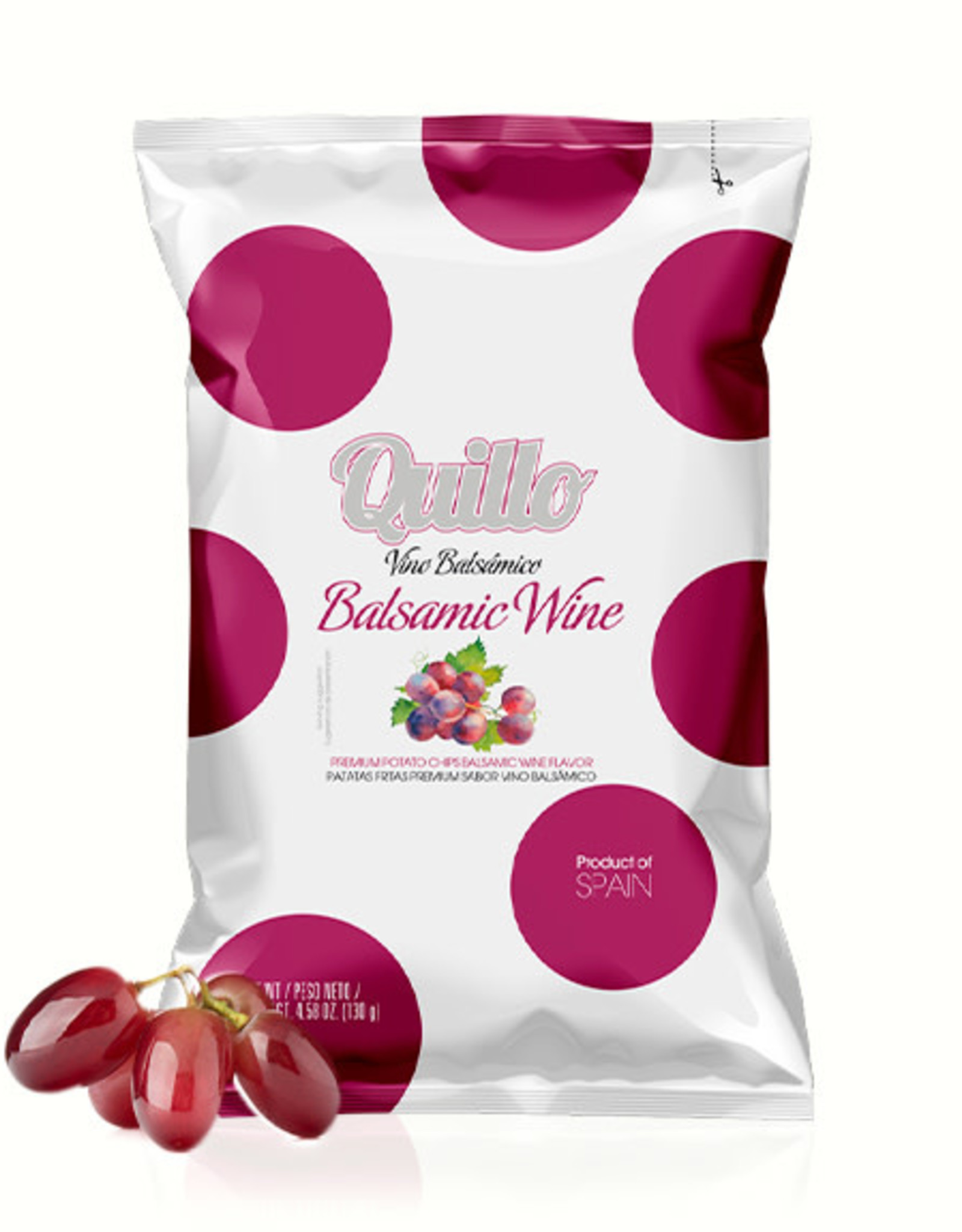 Quillo Chips 130gr.-balsamico wine