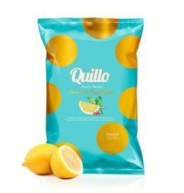 Quillo Chips 130gr.-lemon & pink pepper