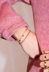 My Jewelry Armbanden SET Little Hearts/Schakel-silver