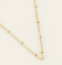 My Jewelry Ketting Dots Large-gold