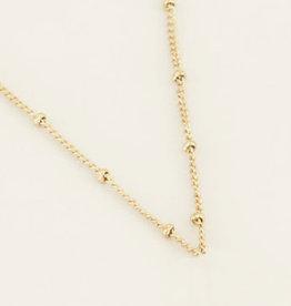 My Jewelry Ketting Dots Medium-gold