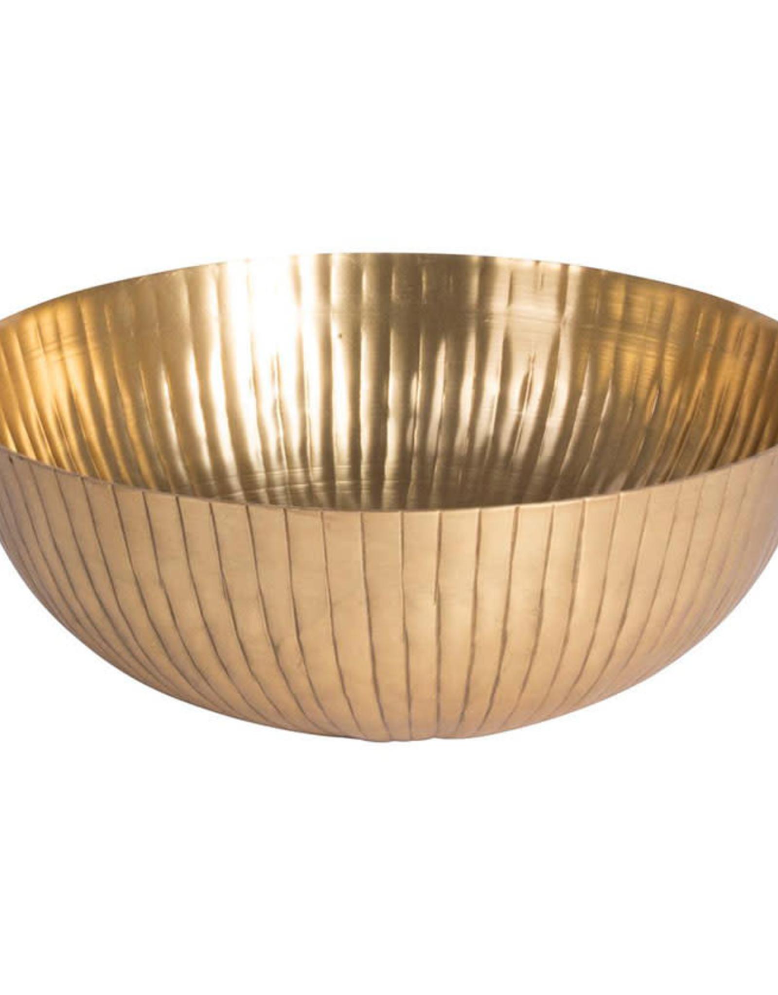 Deco Schaal Ø25.5x10cm-goud