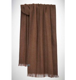 Bufandy Alpaca sjaal Solid-praline
