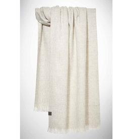 Bufandy Alpaca sjaal Solid-white canvas