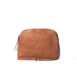 O My Bag Handtas Emily / Chain Leather Strap-cognac (stromboli leather)