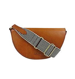 O My Bag Handtas Laura / 2 Straps-cognac (classic leather)