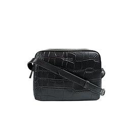O My Bag Handtas Sue Croco-black (classic leather)