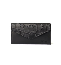 O My Bag Pixie Envelope Croco-black (classic leather)