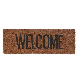 Deurmat Welcome 75x26 cm-brown/black