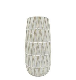 Vaas Nomad Ceramic 26 cm-white
