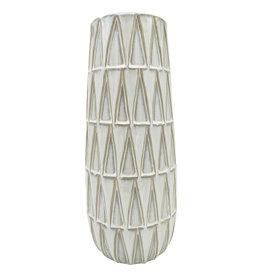 Vaas Nomad Ceramic 33 cm-white