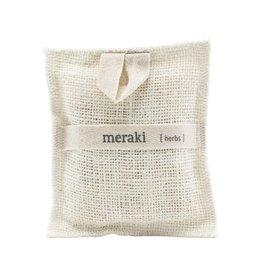 Meraki Bath Mitt (scrub washand)-herbs