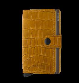 Secrid Miniwallet Cleo-ochre brown