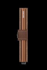Secrid Miniwallet Saffiano-caramel
