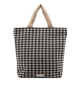 Monk & Anna Shopper BAJA Checkered-black/white
