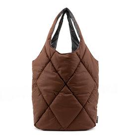 Tinne+Mia CARMEL Puffy bold bag-brownie