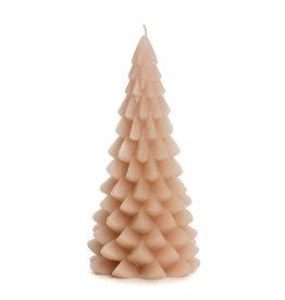 Rustik Lys Xmas Tree Candle 10x20cm-skin