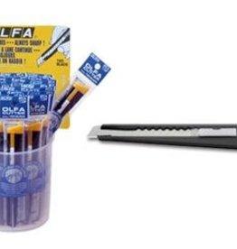 OLFA OLFA Standard Cutter Metal Body -36pcs
