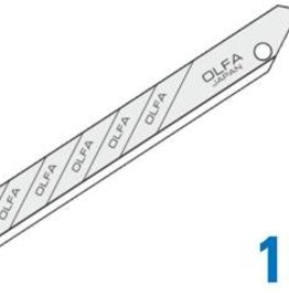 OLFA 30º Snap-Off Graphics Blades Super Sharp
