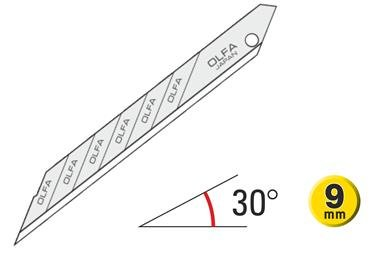 OLFA 30º Snap-Off Graphics Blades Super Sharp 120-SAB-10