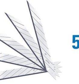 NT 30º Snap-Off Graphics Blades Super Sharp -5 pcs