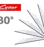 NT 30º Snap-Off Graphics Blades Super Sharp -50 pcs 120-BD-100a