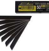 OLFA 9mm Black Ultra-Sharp Snap-Off Blades 120-ABB series