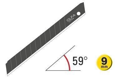 OLFA Excel-Black Abbrechklingen 120-ABB-series