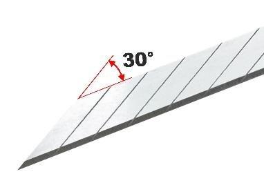 NT Cutter Snap-Off Blades 30º Supersharp 120-BD50P