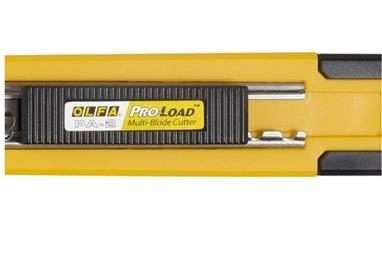 OLFA Multi-Blade Auto-Loading Auto-Lock Utility Knife With Blade Storage 100-PA-2