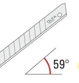 OLFA® 9mm Edelstahl Snap-Off Blades