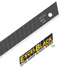 Olfa EXCEL BLACK ™ Ultra Sharp 12.5mm Tapete Schneidmesser