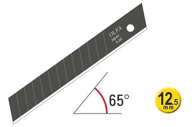 Olfa EXCEL BLACK™ Ultra Sharp 12.5mm Wallpaper Cutting Blades 120-FWB series