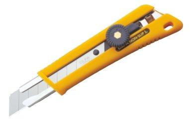 OLFA® Rubber Grip Ratchet-Lock Utility Knife 100-NOL-1
