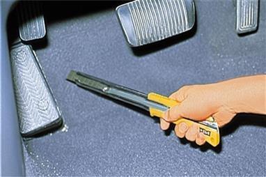 OLFA® Extended Reach Ratchet-Lock Utility Messer 100-XL-2