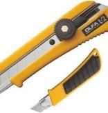OLFA® Gummi Inset Griff Ratchet-Lock Utility Messer 100-L-2