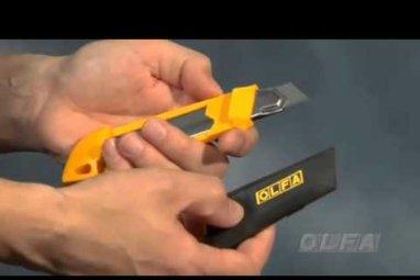 OLFA® SNAP Es ist 'N' TRAP It ™ Auto-Lock Utility Messer 100-DL-1
