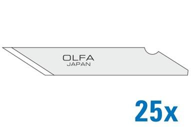 OLFA Ersatzklingen für OLFA Art-Knife 120-KB-25