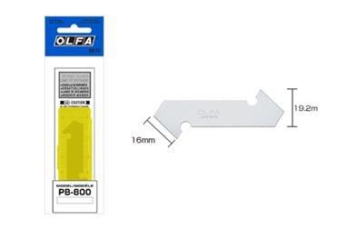 OLFA Kunststoff-/Laminatklingen, 3er Pack 120-PB-800