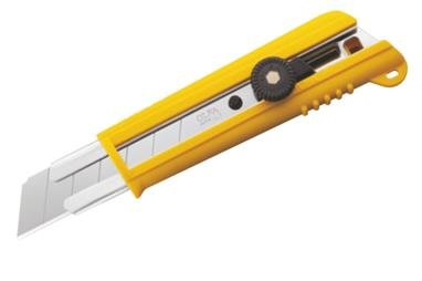 OLFA Gummi-Griff Ratchet-Lock Utility Messer 100-NH-1
